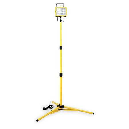 LUMAPRO Halogen Yellow Temporary Job Site Light