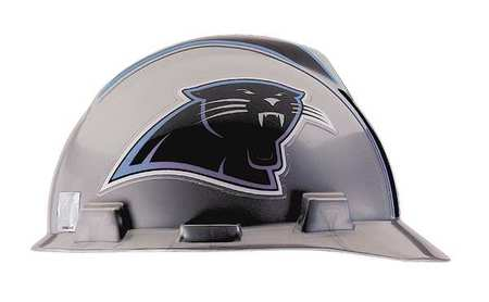 NFL Hard Hat, CarolinaPanthers, Gray/Black