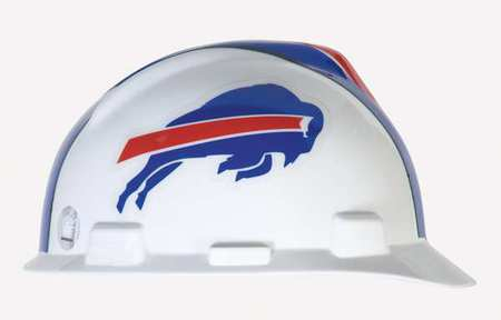 NFL Hard Hat, Buffalo Bill, Red/White/Blue