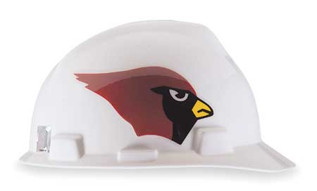 NFL Hard Hat, Arizona Cardinals, Red/White