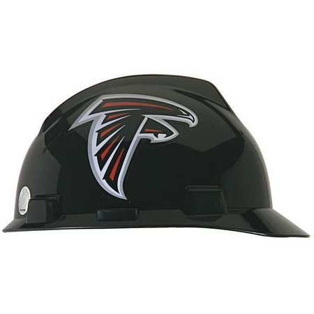 NFL Hard Hat, Atlanta Falcons, Black/White