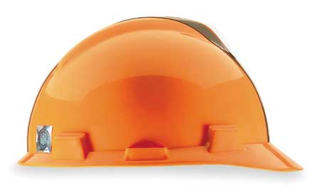 NFL V-Gard Hard Hat, Cleveland Browns, Brn/Orange