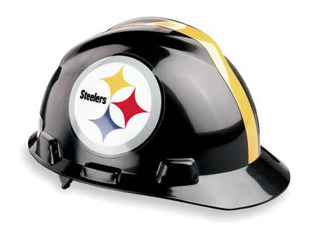 NFL Hard Hat, Pittsburgh Steelers, Blk/Ylw