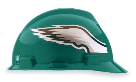 NFL Hard Hat, Philadelphia Eagles, Grn/Wht