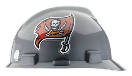 NFL V-Gard Hard Hat, Tampa Bay Buccaneers, Gry/Rd