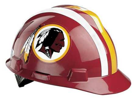 NFL Hard Hat, WashingtonRedskins, Red/Gold