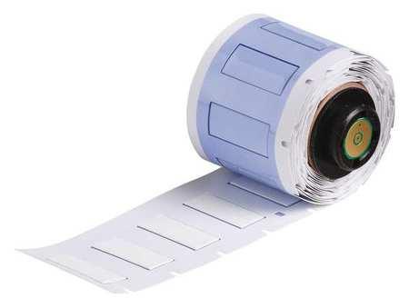 """1-1/64"""" x 7/16"""" White Polyolefin Wire Marker Sleeves"""