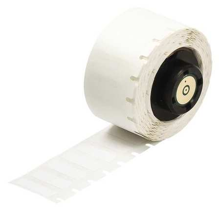 "1"" x 1"" White Printer Label,  Nylon"