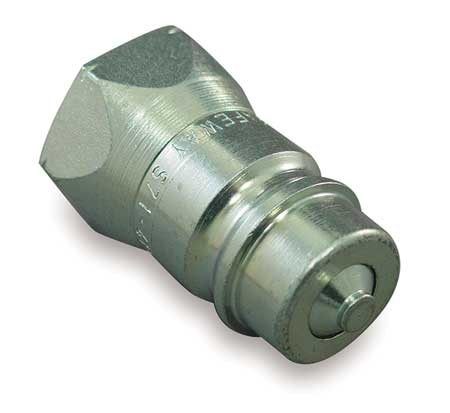 Coupler Nipple, 1/4-18, 1/4 In. Body, Steel