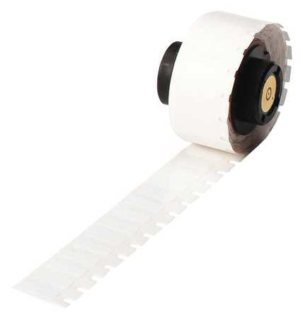 "1/2"" x 13/64"" White Label,  Polyester"