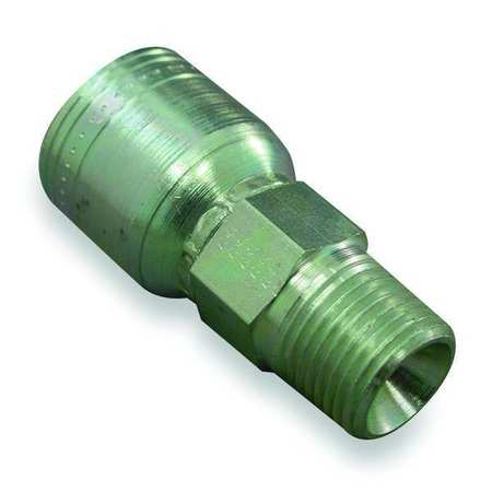 Fitting, Straight, 1/4 In Hose, 1/8-27 NPT