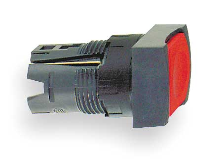 Illum Push Button Operator, 16mm, Red
