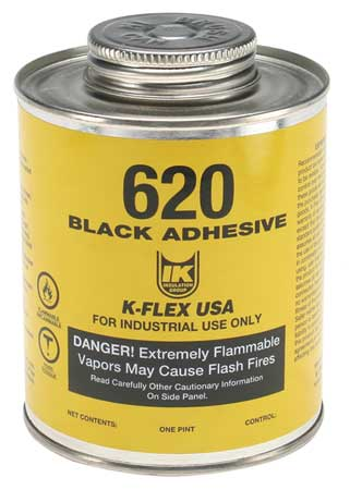 Contact Adhesive, 620, 1 Pint, Black