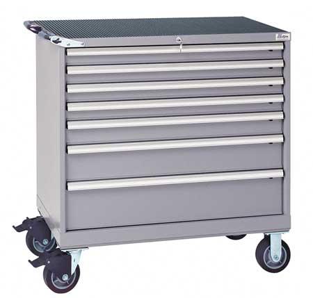 Mobile Workbench Cabinet, 440 lb., Steel