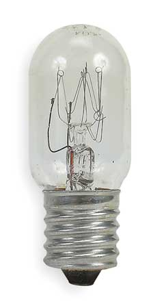 GE LIGHTING 15W,  T7 Incandescent Light Bulb