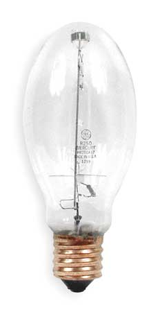 GE LIGHTING 250W,  ED28 Mercury Vapor HID Light Bulb
