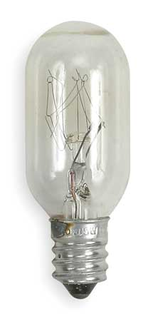 GE LIGHTING 15W,  T7 Incandescent Light Bulb