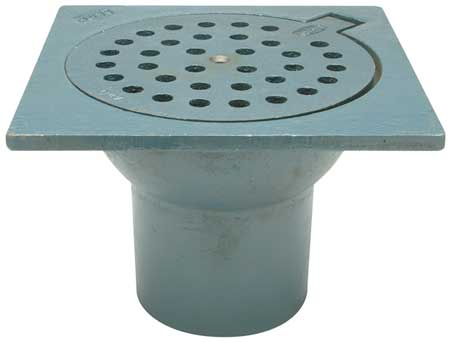 Cellar Floor Drain,  Pipe Dia 4 In