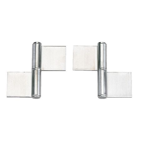 Lift-Off Hinge, Satin, 4-1/64 x 4-21/64 In