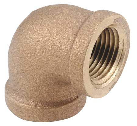 "3/4"" FNPT Brass 90 Degree Elbow"