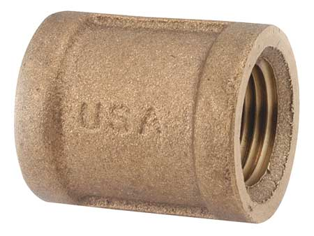 "2"" FNPT Brass Coupling"