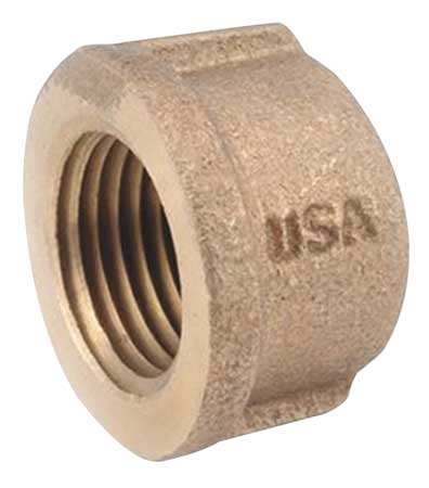 Cap, Brass, 250, 1-1/4 In., FNPT