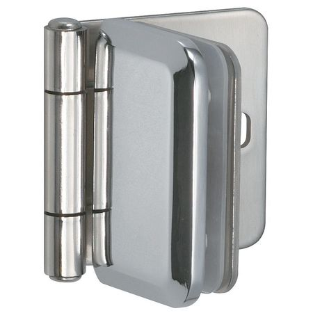 Glass Door Hinge, Stainless Steel, 270 Deg