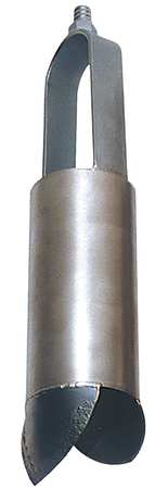 Auger, Regular, 2 In, 5/8 In Thread