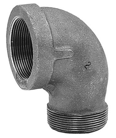 "1/2"" FNPT x 3/8"" MNPT 90 Degree Reducing Street Elbow"