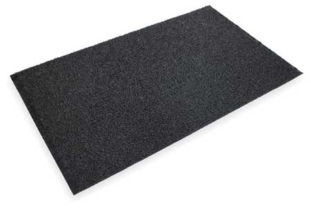 Entrance Scraper Mat, Black, 4ft. x 6ft.