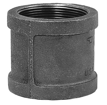 "1-1/4"" FNPT Malleable Iron Coupling"