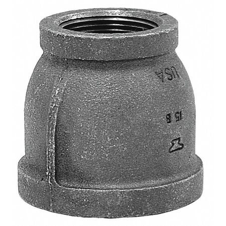 "3"" x 1"" FNPT Malleable Iron Reducer Coupling"