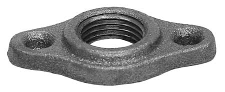"1/2"" FNPT Malleable Iron Waste Nut"