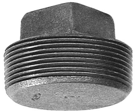 "3/8"" MNPT Solid Square Head Plug"