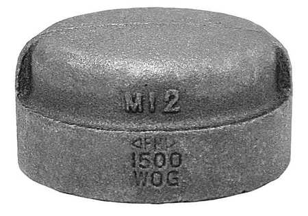 """1"""" FNPT Malleable Iron Cap"""