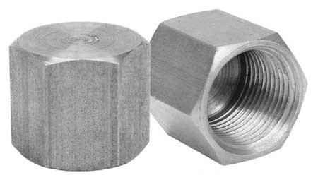 """1/4"""" FNPT Malleable Iron Cap"""