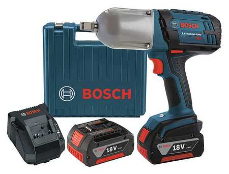 Cordless Impact Wrench Kit, 9-1/2 In. L