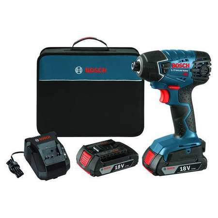 Cordless Impact Driver Kit, 18V, 1/4 In.