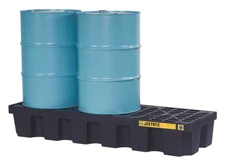 Drum Spill Cntnmnt Pallet, 3 Drum, 3750 lb