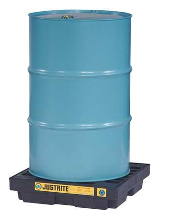 Drum Spill Cntnmnt Pallet, 1 Drum, 1250 lb