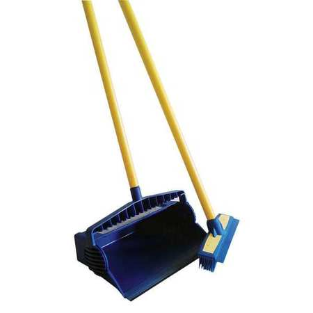 Broom Set, Blue, Rubber