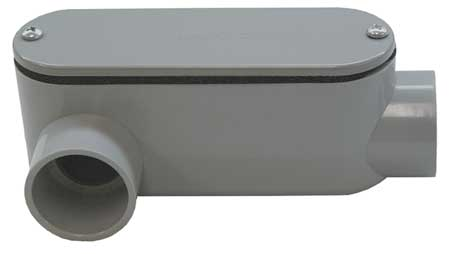 Conduit Outlet Body, PVC, LR