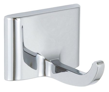 Bathroom Hook, 1 Hook, 2In D, Chrome