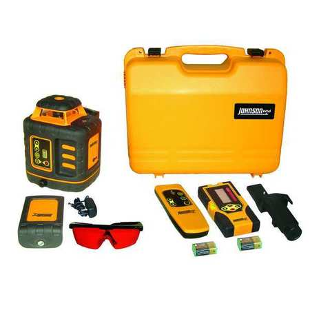 Rotary Laser Level,Int/Ext,Red,2000 ft.