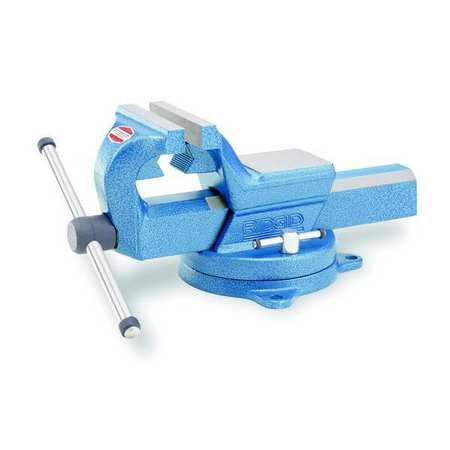 Combination Vise, Swivel, 5 In Jaw, FS