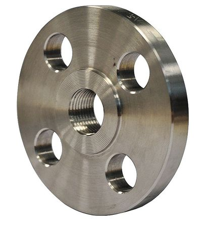 "2-1/2"" FNPT SS Threaded Flange"