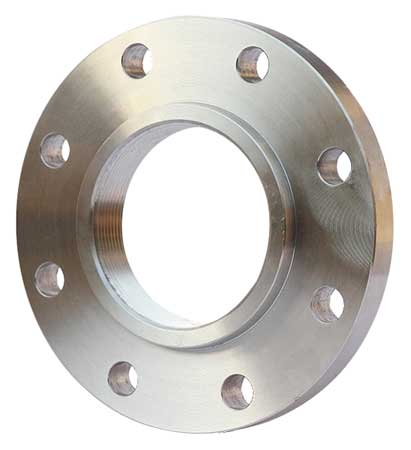 "6"" FNPT SS Threaded Flange"
