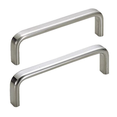 Pull Handle, Polished, 4-59/64 In. H