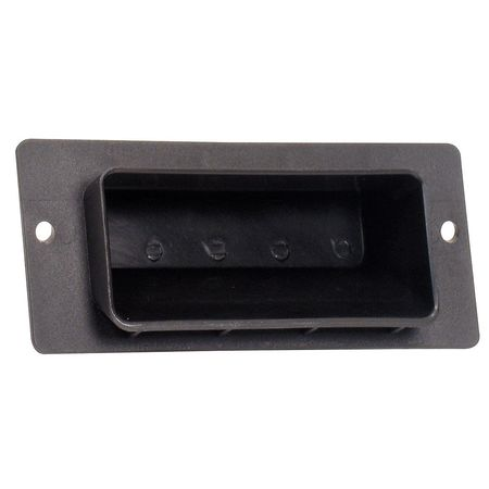 Recessed Pull Handle, Polypropylene