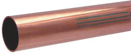 "2-1/8"" OD x 10 ft. Straight Copper Tubing Type K"